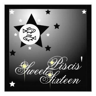 La fortuna zodiacal Sixteen-Cust dulce de Piscis Anuncios Personalizados