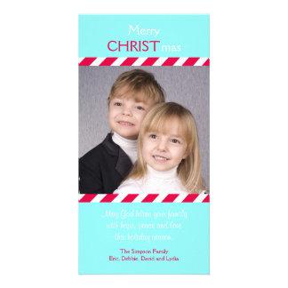 La foto religiosa cristiana del navidad carda a plantilla para tarjeta de foto