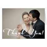 La foto romántica del boda de la escritura le agra felicitacion