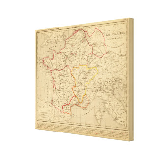 La Francia un mort de Clovis en 510 del la Lona Estirada Galerias