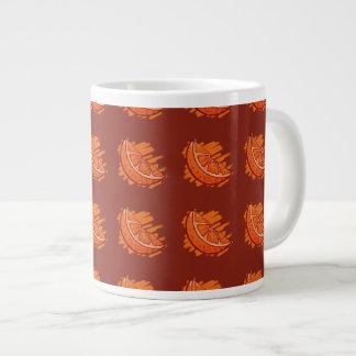La fruta modela los regalos de la naranja de taza de café gigante