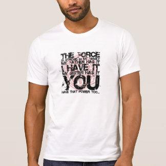La fuerza camisetas