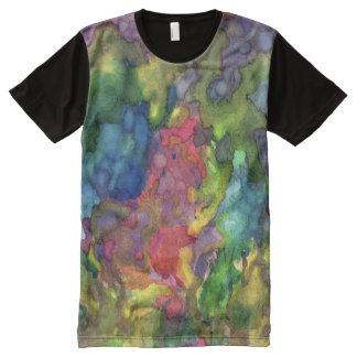 La furia 3 de la naturaleza camiseta con estampado integral