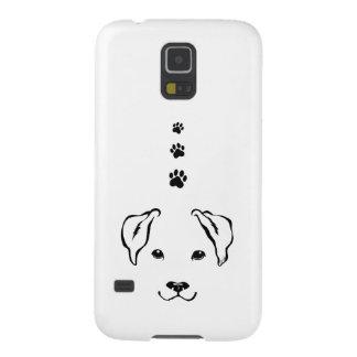 La galaxia dibujada mano S5 de Samsung del perro Carcasa Galaxy S5