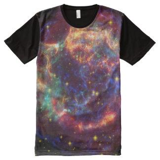 La galaxia protagoniza la camiseta de los hombres