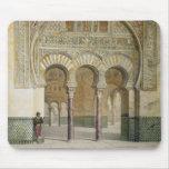 La galería de la corte de leones en Alhambra, Alfombrilla De Ratones