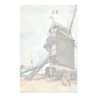 La Galette de Le Moulin De de Vincent van Gogh Papeleria De Diseño