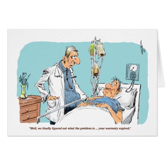 La garantía del paciente consigue la tarjeta bien