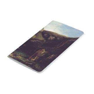 La garganta de Gustave Courbet Cuadernos