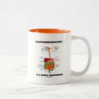 La gastroenterología es una profesión osada taza de dos tonos
