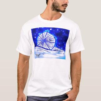 La gema de la estrella, gema en camisa de la nieve