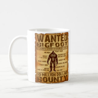 La generosidad de Bigfoot 10 millones de dólares Taza De Café