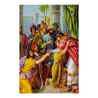 La génesis 45 José dice quién él es Póster