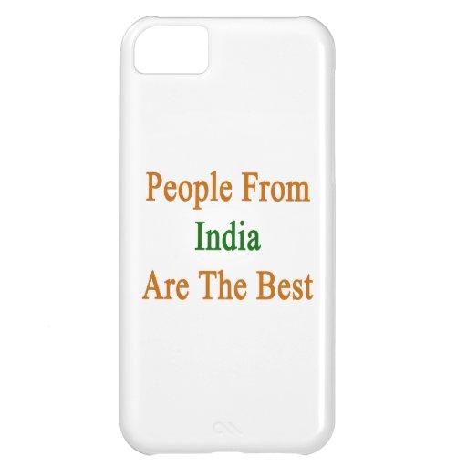 La gente de la India es el mejor