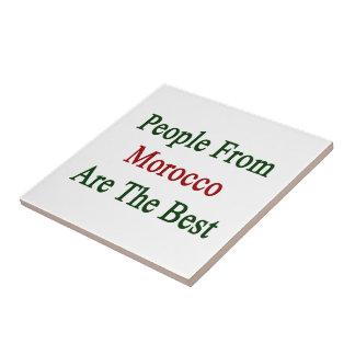 La gente de Marruecos es el mejor Tejas Ceramicas