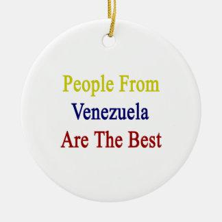 La gente de Venezuela es el mejor Adorno De Reyes