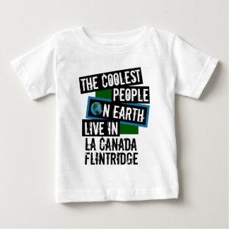 La gente más fresca en la tierra en el La Canada Camiseta De Bebé