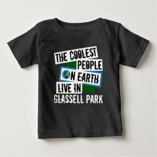 La gente más fresca en la tierra vive en el parque camiseta de bebé