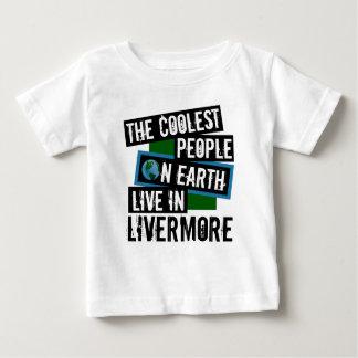 La gente más fresca en la tierra vive en Livermore Camiseta De Bebé