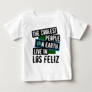 La gente más fresca en la tierra vive en Los Feliz Camiseta De Bebé