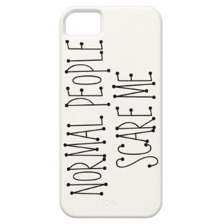 La gente normal me asusta iPhone 5 Case-Mate carcasa