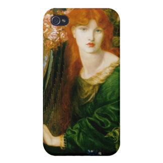 La Ghirlandata - Dante Gabriel Rossetti iPhone 4 Carcasas