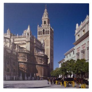 La Giralda de Sevilla, España el | Azulejo