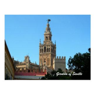 La Giralda de Sevilla postal del viaje