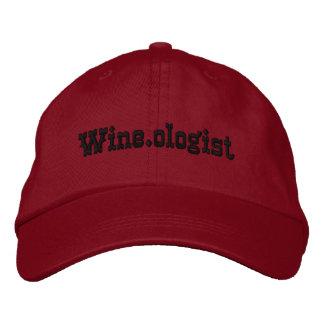 La gorra de béisbol de las mujeres de Wine.ologist