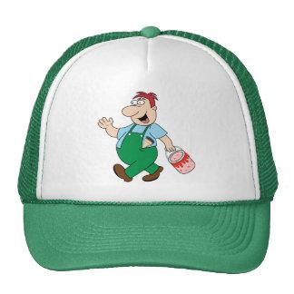 La gorra de béisbol del pintor