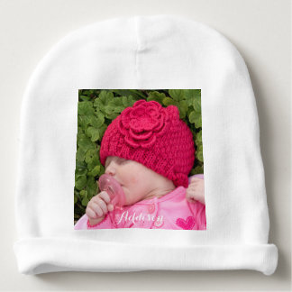 La gorrita tejida infantil personalizada del gorra gorrito para bebe