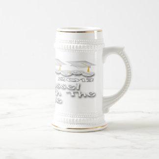 La graduación blanca capsula a Stein Tazas De Café