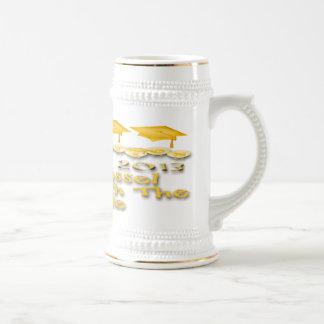 La graduación del oro capsula a Stein Jarra De Cerveza