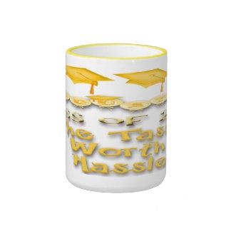 La graduación del oro capsula las tazas