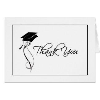 La graduación elegante le agradece las tarjetas
