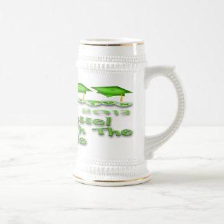 La graduación verde capsula a Stein Tazas De Café