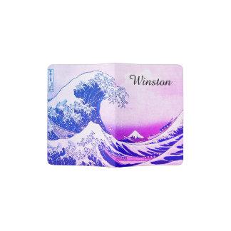 La gran onda de Kanagawa Porta Pasaportes