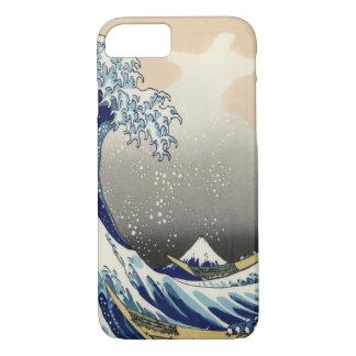 La gran onda del iPhone 7 de Kanagawa Funda iPhone 7