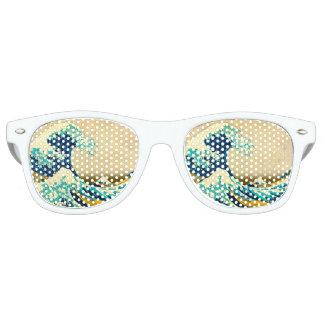 La gran onda gafas de fiesta retro