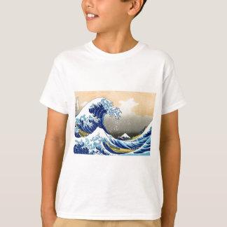 La gran onda - Hokusai Camiseta