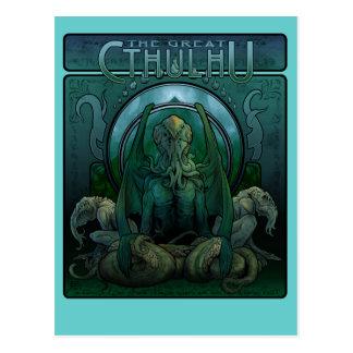 La gran postal de Cthulhu