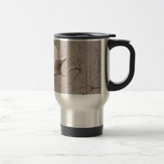 La gran taza del viaje del Egret