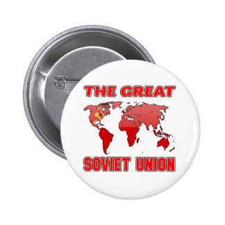 La gran UNIÓN SOVIÉTICA. Chapa Redonda 5 Cm