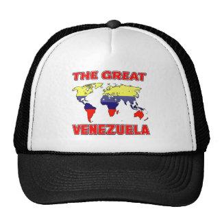 La gran VENEZUELA Gorras