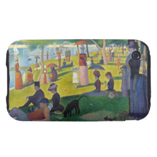 La grande Jatte de Seurat iPhone 3 Tough Fundas