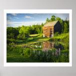 La granja de Juan Brown en el Adirondacks, N.Y. Posters