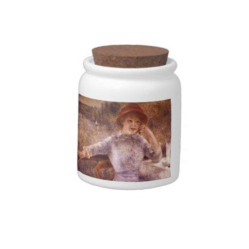 La Grenouillere del En de Pedro Renoir Platos Para Caramelos