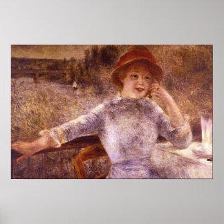 La Grenouillere del En de Pedro Renoir Poster