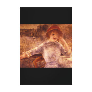 La Grenouillere_Impressionists del En Impresión En Tela