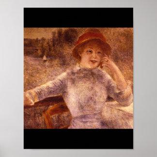 La Grenouillere_Impressionists del En Póster